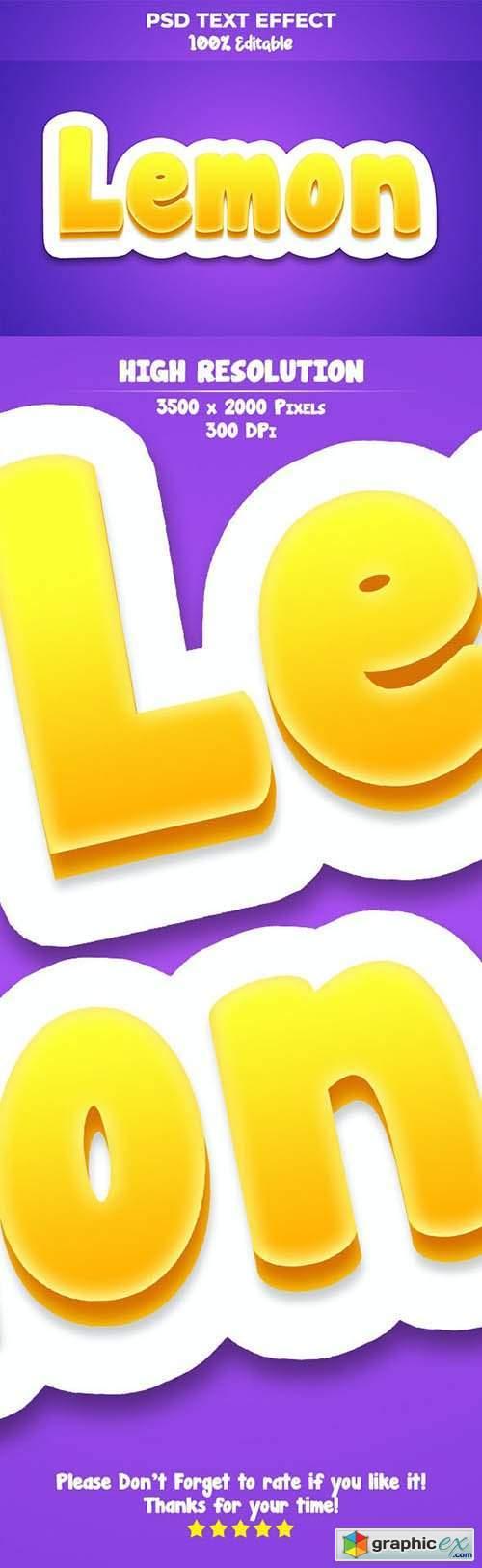 Cartoon Game Logo Text Effect