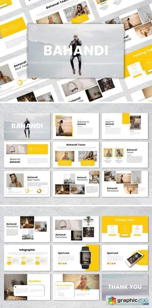 Presentation Templates - Bahandi