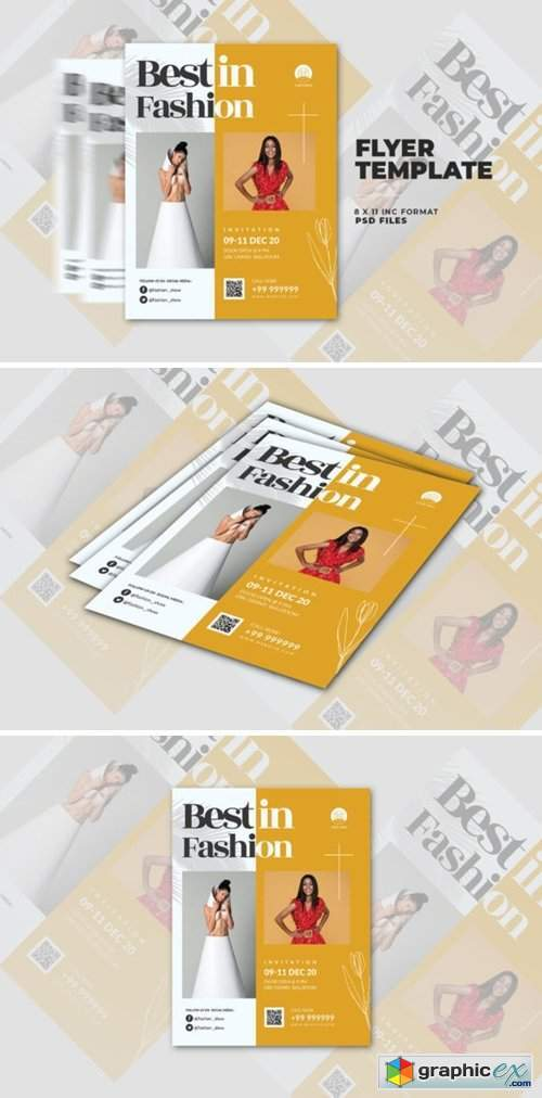 Fashion Show Flyer Templates