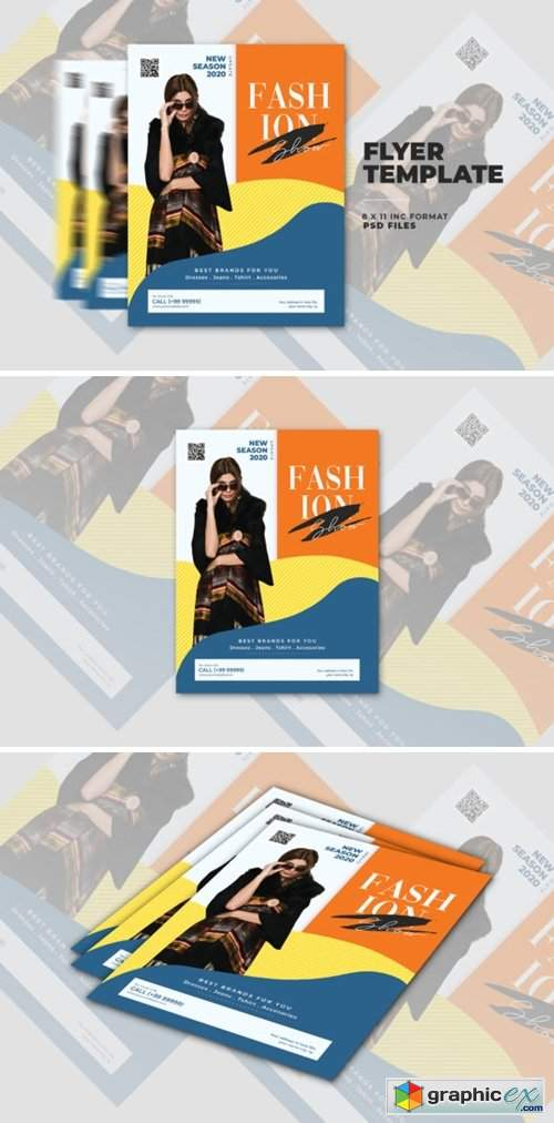 Fashion Show Flyer Template 4163358
