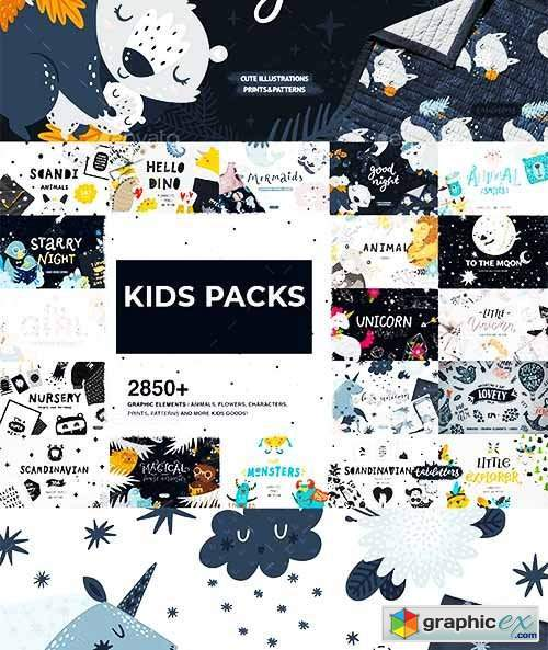 2850+ Kid Pack Graphics And Pattern