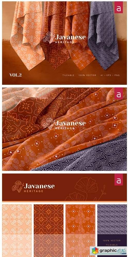 Javanese Heritage - Seamless Batik Vol 2