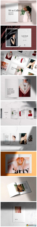 LookBook Minimal Fashion Template 4091294