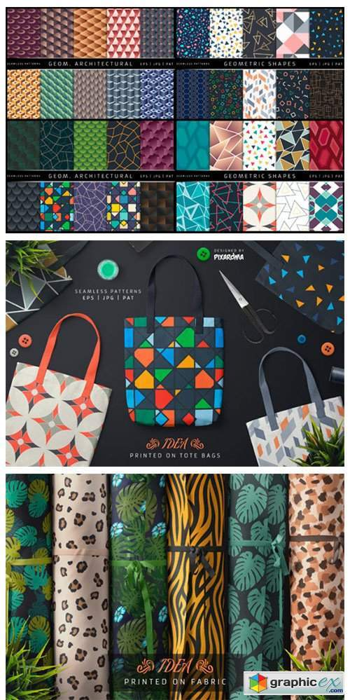 100 Seamless Patterns Vol.1
