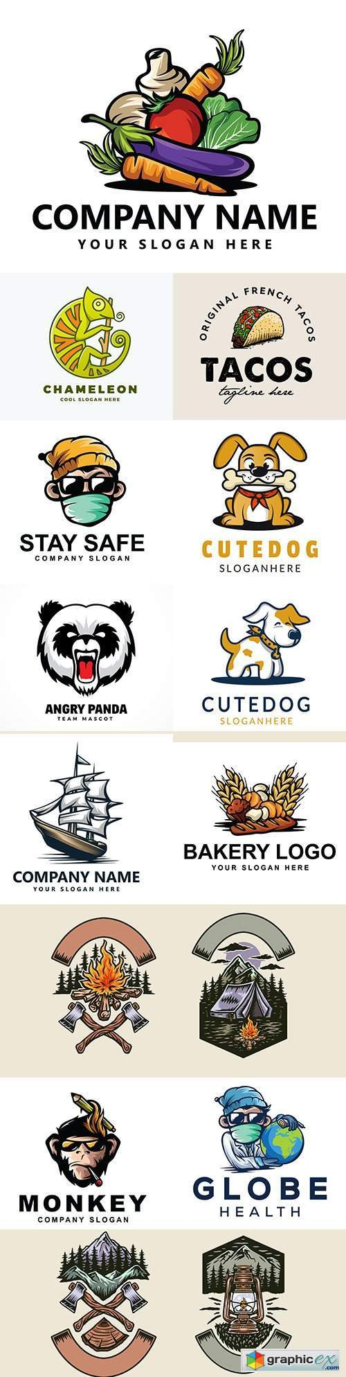 Brand name company logos business corporate design