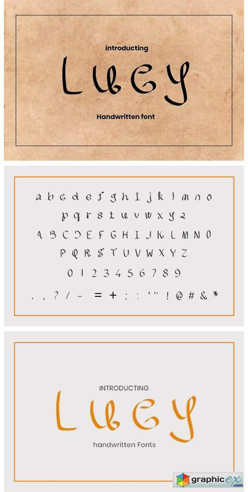 Lucy Font