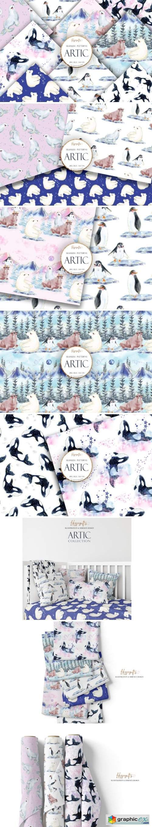 Artic Animals Patterns
