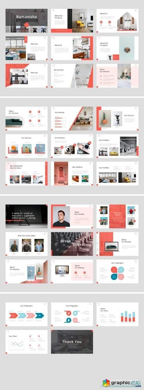 Rumanisha - Interior PowerPoint Template