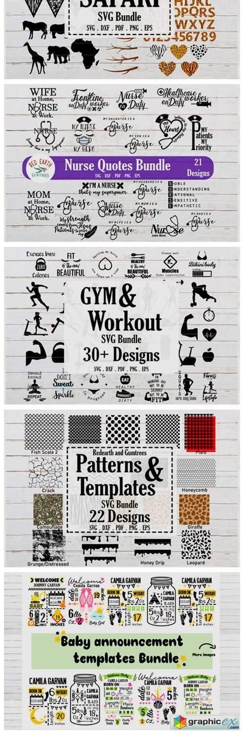 The MEGA SVG Bundle.More Than 650 Design