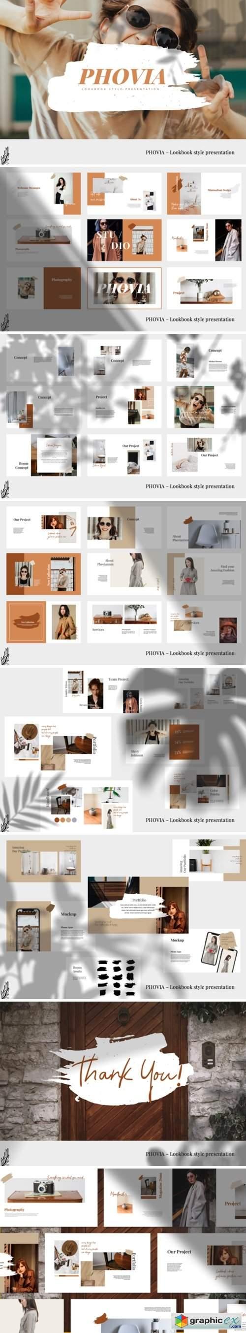 Phovia - Lookbook Keynote Template