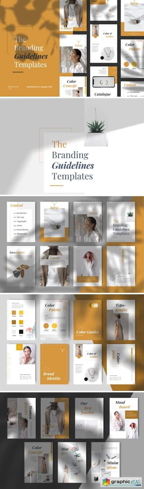 Intza Luxury Powerpoint Brand Guidelines