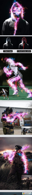 Amazing Aura Photoshop Action Vol 3