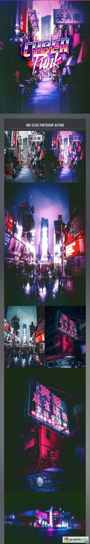 Cyberpunk Photoshop Action 26205020