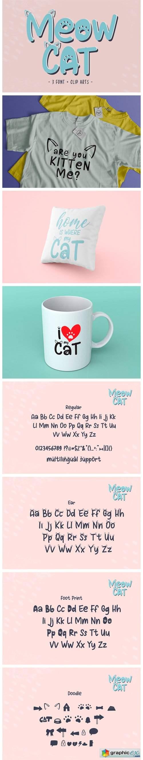 Meow Cat Font