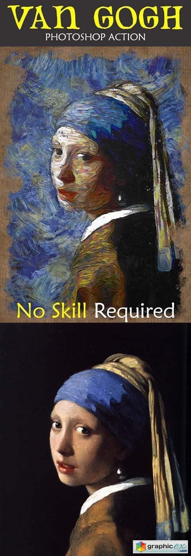 Van Gogh Photoshop Action