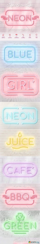 Light Neon Wall Sign