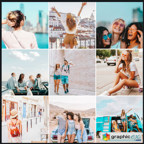 Phlearn Pro - Travel Lightroom Presets for Classic & Mobile Pro