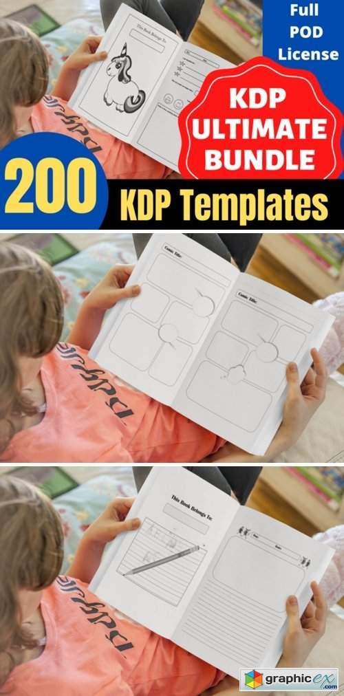 KDP Ultimate Bundle 200 Unique Interiors