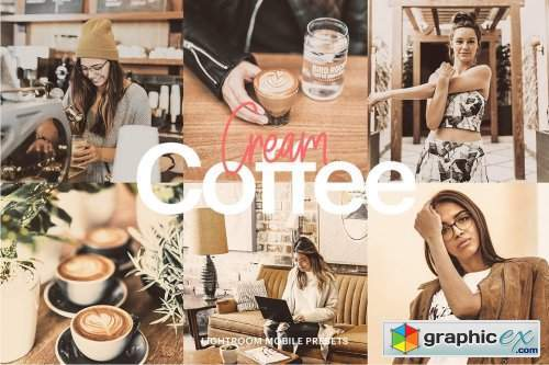 Lightroom Preset-Cream Coffee Theme