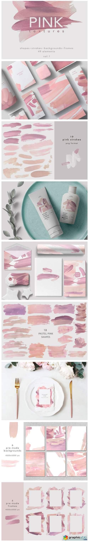 PINK Textures-vol.1