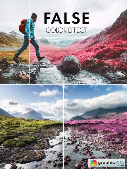Fluorescent Color Manipulation Effect