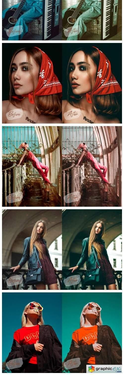 11 Retro Mood Photoshop Actions