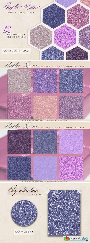 Purple Rain Glitter & Shimmer Kit