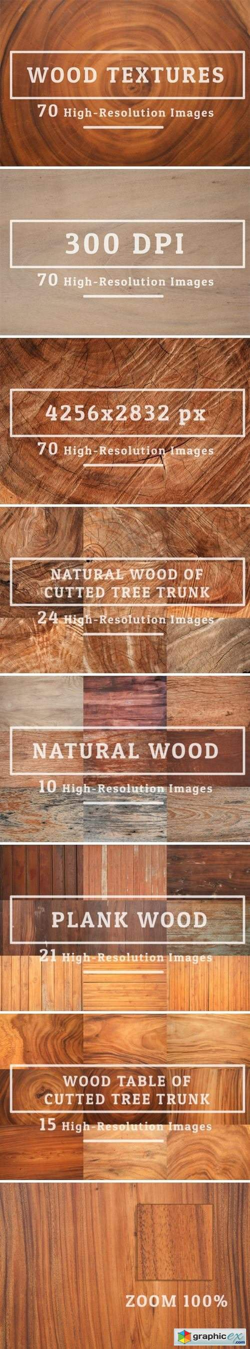 70 Wood Texture Background
