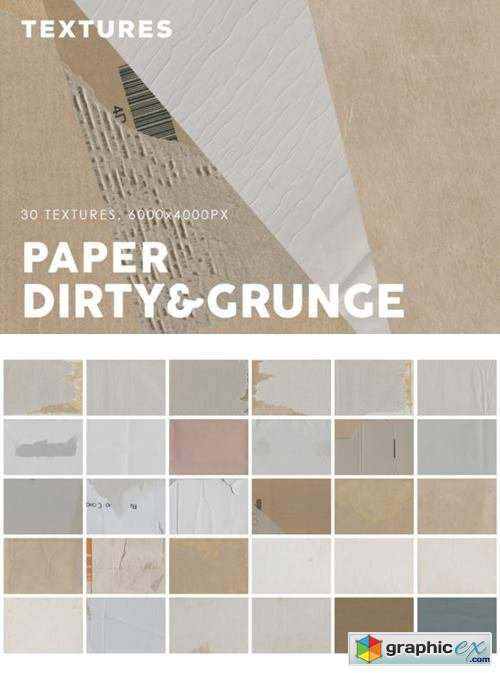 Dirty Paper Textures