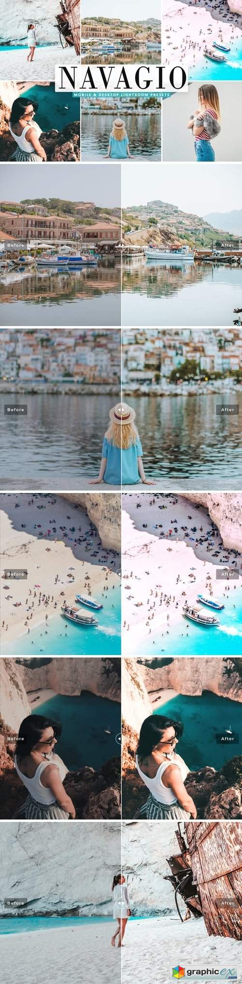 Navagio Mobile & Desktop Lightroom Presets