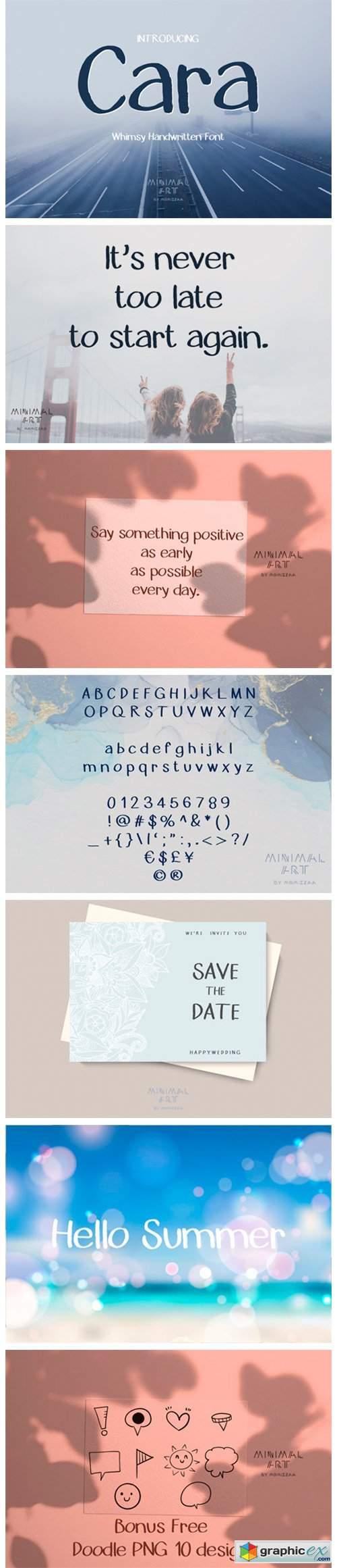 Cara Font
