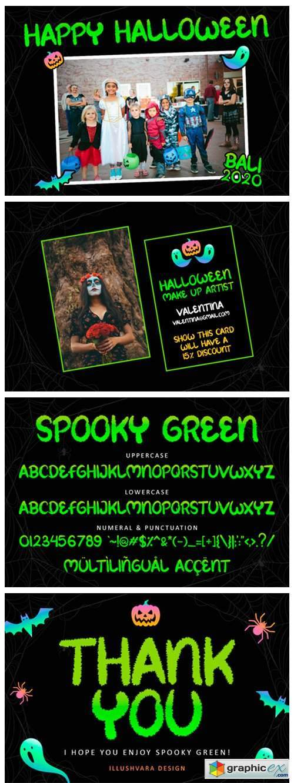 Spooky Green Font