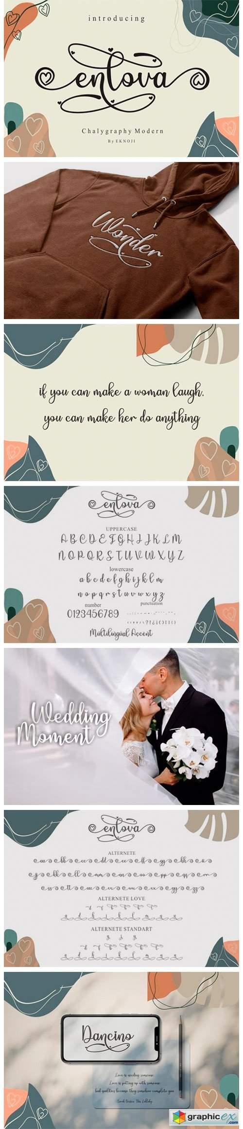 Enlova Font