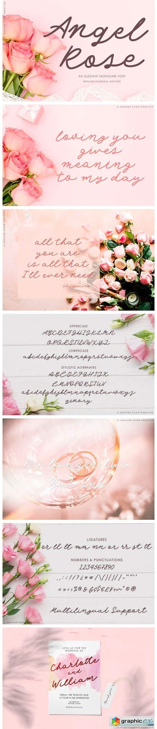 Angel Rose Font