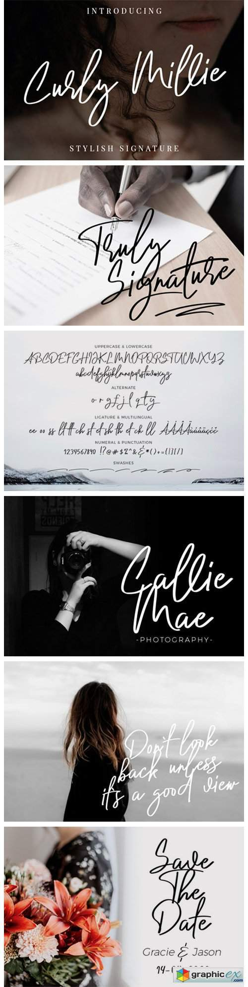 Curly Millie Font