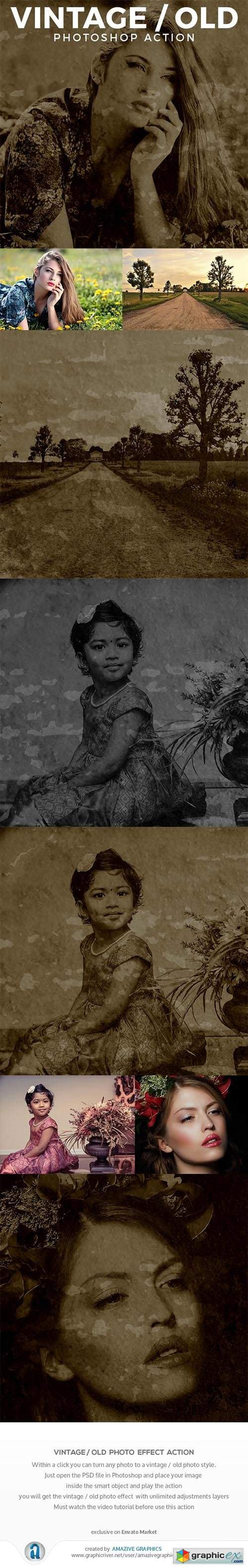Vintage / Old Photo Effect