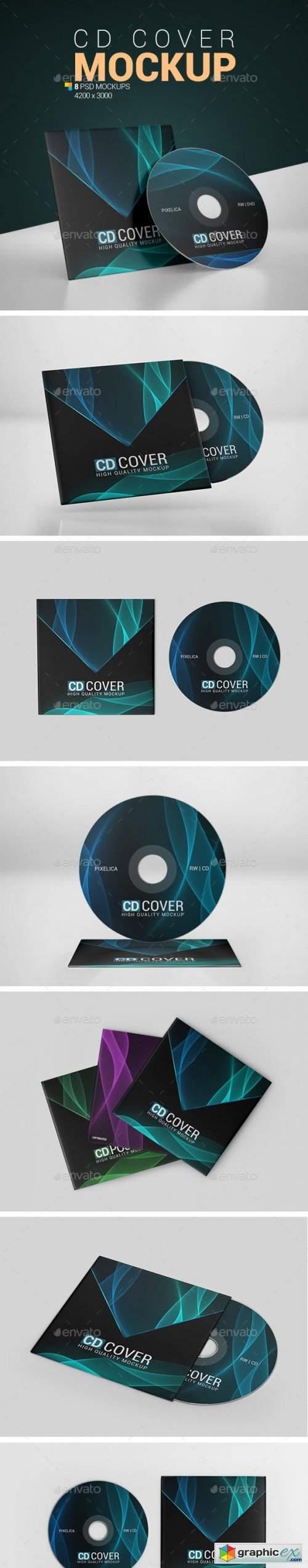 CD Cover Mockup 24721076