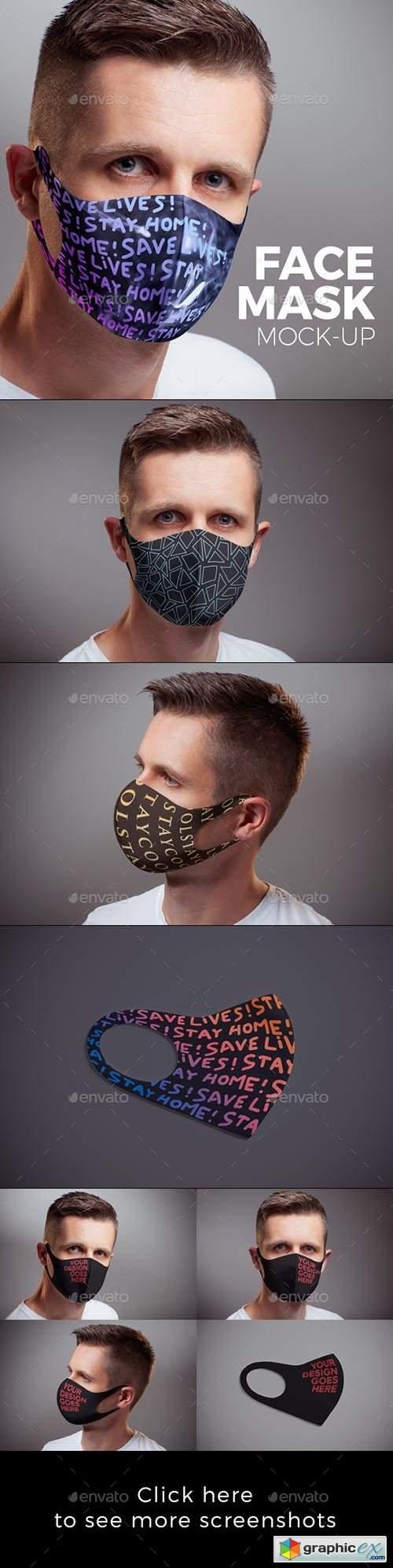 Face Mask Mock-up 27534854