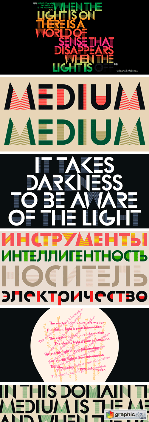 Lincoln Electric Font Family
