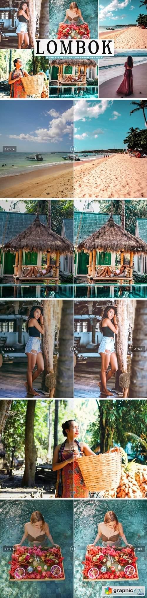 Lombok Mobile & Desktop Lightroom Presets