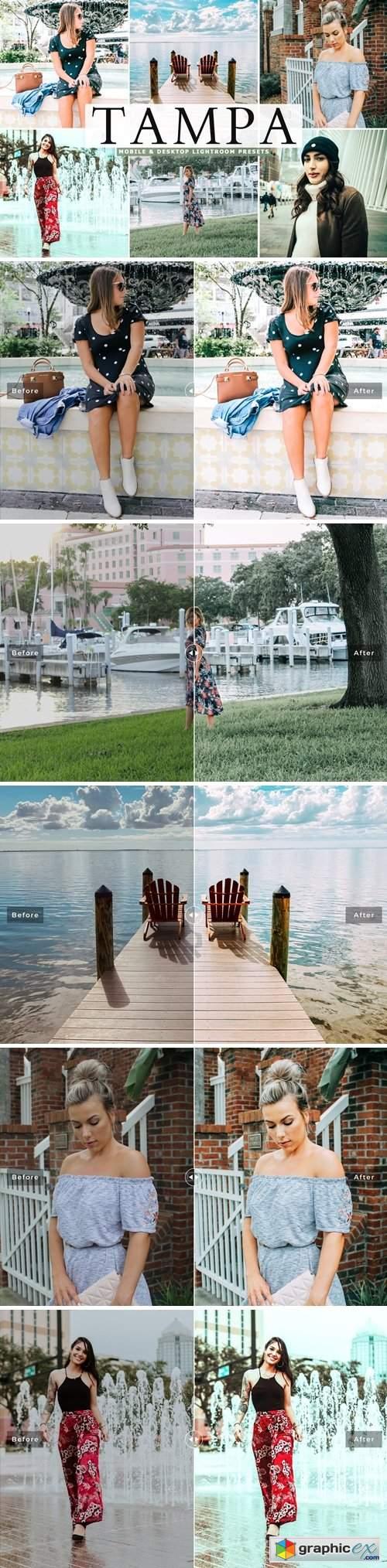 Tampa Mobile & Desktop Lightroom Presets
