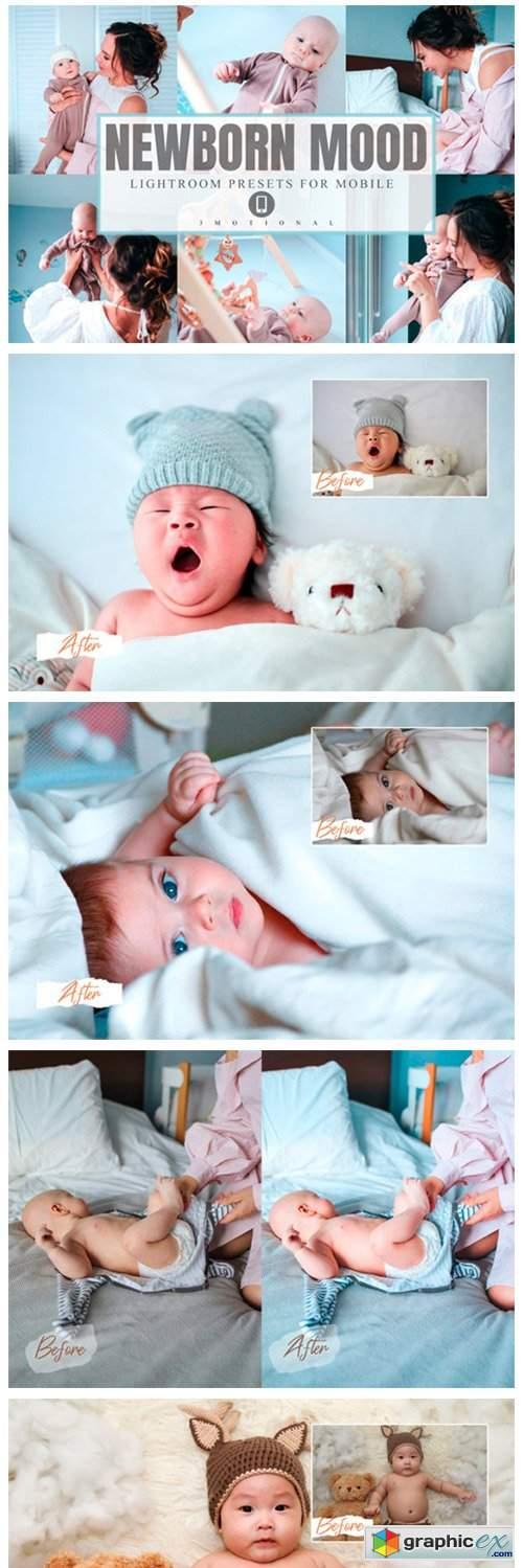 6 Newborn Mood Lightroom Presets