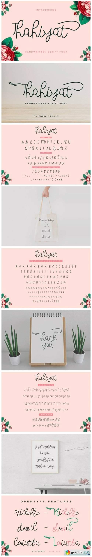 Thahiyat Font