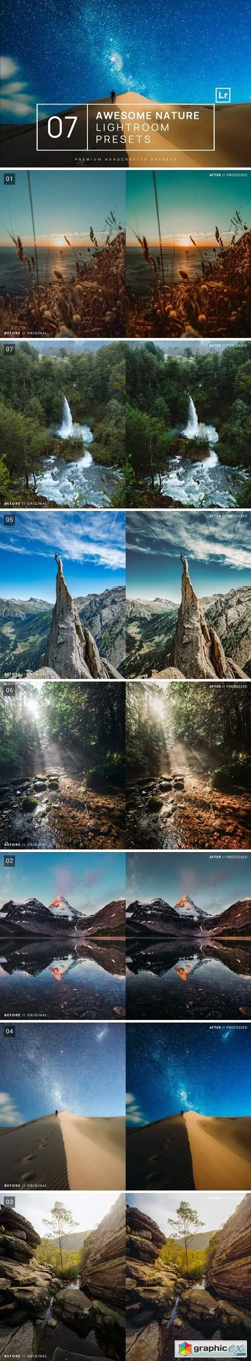 7 Awesome Nature Lightroom Presets + Mobile