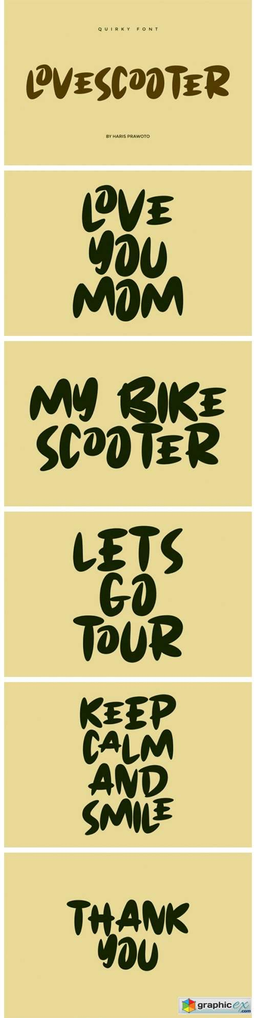 Lovescooter Font