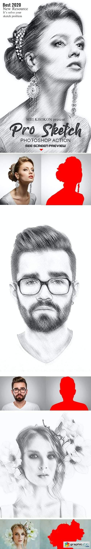 Pro Sketch Photoshop Action