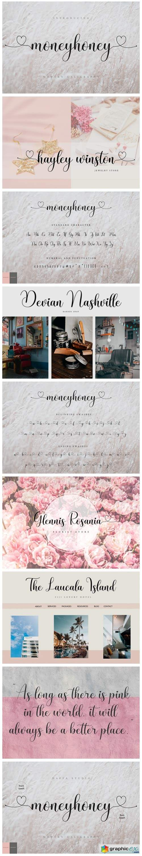 Moneyhoney Font
