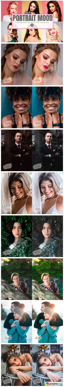 22 Portrait Mood Lightroom Presets