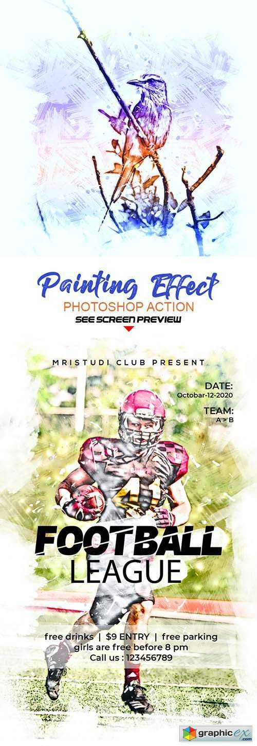 Painting Effect Photoshop Action 27511425