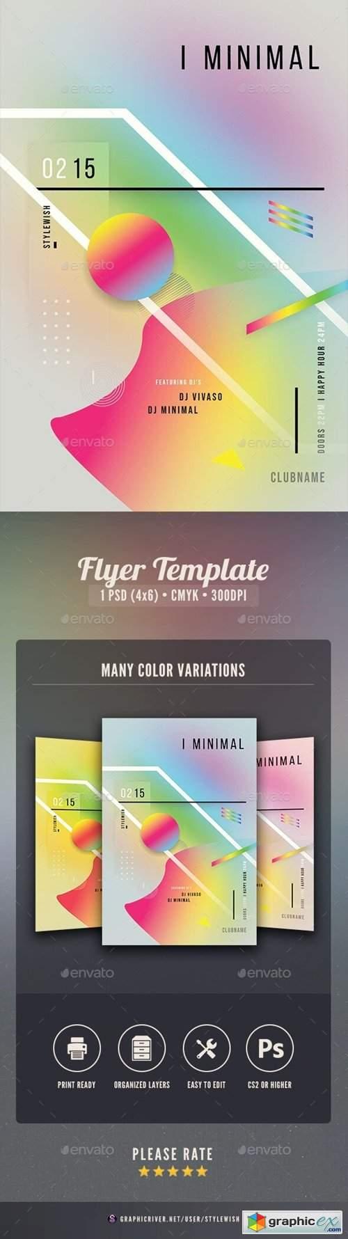Minimal Flyer 27537953